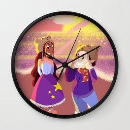 Bear Hats Wall Clock