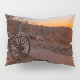 Gettysburg Sunset Cannon Pillow Sham