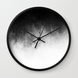 Abstract V Wall Clock