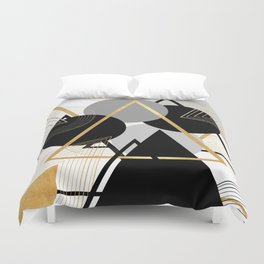 Deltamatic Duvet Cover