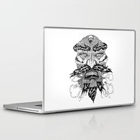demon Laptop & iPad Skins featuring demon by Fellow Artist