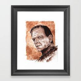 Son of Frankentsein Framed Art Print