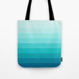 TURQUOISE GRADIENT Tote Bag