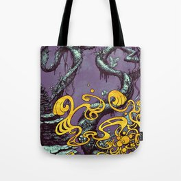 Epiphycadia III: Violet Tote Bag