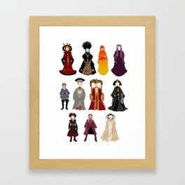 Queen's Closet Framed Art Print