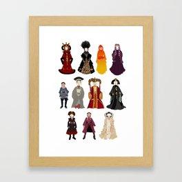 Queen's Closet Framed Art Print