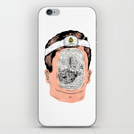 Journey to the center of the earth iPhone & iPod Skin