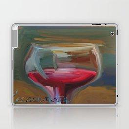 Wine Glass Laptop & iPad Skin