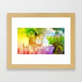 God Gamble Haven Framed Art Print