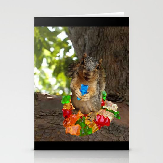 What Gummy Bears? Stationery Cards