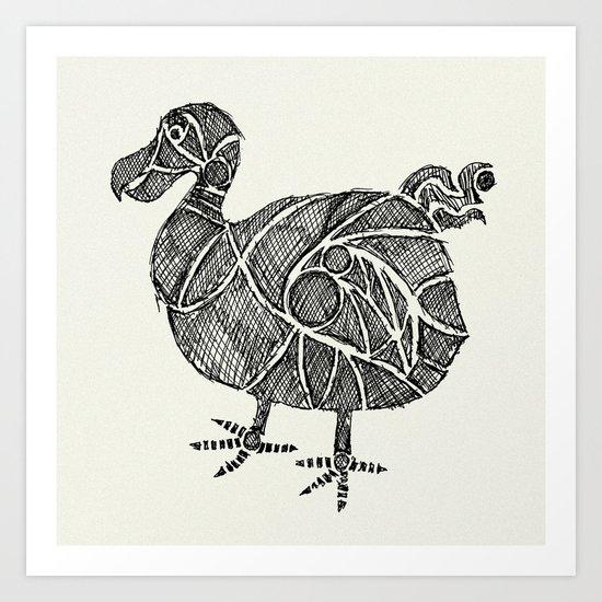 Dodo Bird Art Print