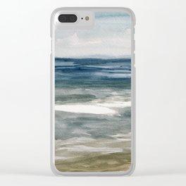 Island Beach State Park II Clear iPhone Case