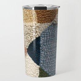 Interests Collide Rug Hooked Art Travel Mug
