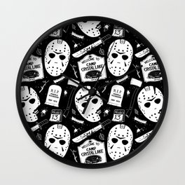 Welcome to Camp Crystal Lake! Wall Clock