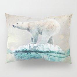 Polar Bear Adrift Pillow Sham