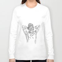niall horan Long Sleeve T-shirts featuring niall horan sketch by jessiicaas