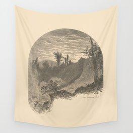 Vintage Adirondacks: Lower Falls, Ticonderoga Wall Tapestry
