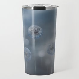 Blue Alliums Travel Mug