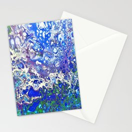Blue Bubbles Stationery Cards
