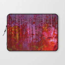 The clearing of the bloodthirsty witch Laptop Sleeve