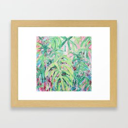 Bermuda Palms Framed Art Print