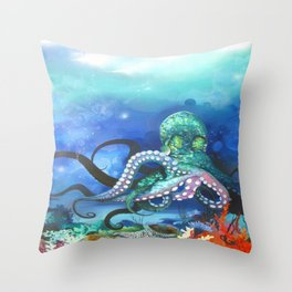 Illuminated Depth Throw Pillow