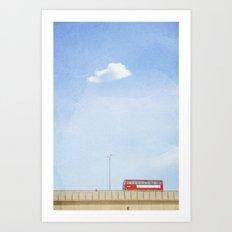 Lonely Skies - London Art Print