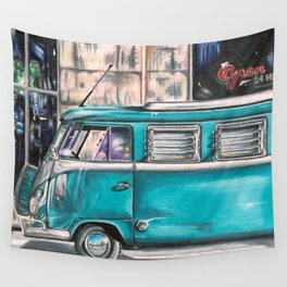 Hippie Van Wall Tapestry