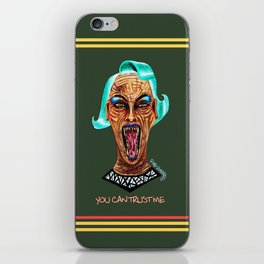 Never Trust a Monster iPhone Skin