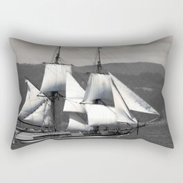 The Ocean in the Sky, sailboat, pirates Rectangular Pillow
