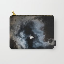 Partial Solar Eclipse Carry-All Pouch