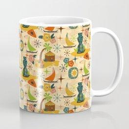 Midcentury Modern Tiki Coffee Mug