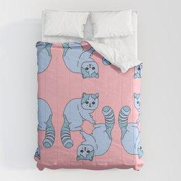 Playful Kittens, 2014. Comforters