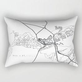 wahi a' wā Rectangular Pillow