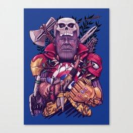 Wild Thanos Canvas Print