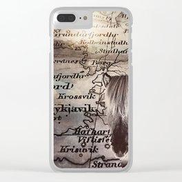 Reykjavík Clear iPhone Case