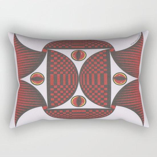 Keep My Eyes On You Rectangular Pillow