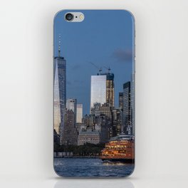 NYC and Staten Island Ferry iPhone Skin