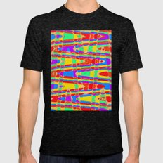 Sunny Day Mens Fitted Tee Tri-Black SMALL