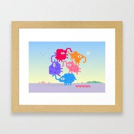 Values Framed Art Print