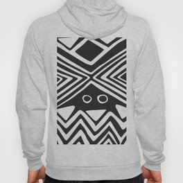 African Tribal Pattern No. 139 Hoody