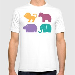 Fun at the Zoo: Pattern T-shirt