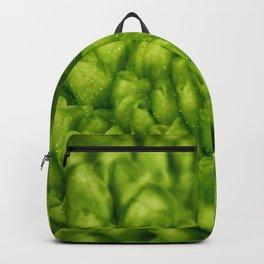Macro photo flower Backpack