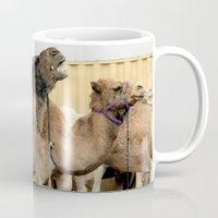 israel Mugs featuring Israel Camels - Negev Desert by Rachel J