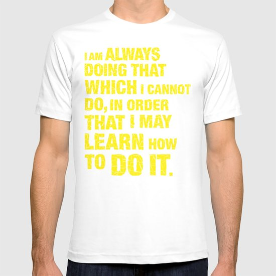 Do it. T-shirt