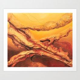 earthlayers Art Print