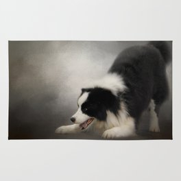 Ready to Play - Border Collie Rug