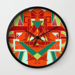 GeoLion Wall Clock
