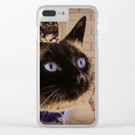 Home For Christmas Clear iPhone Case