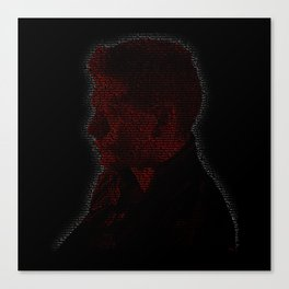 Carry On Dean Winchester Canvas Print